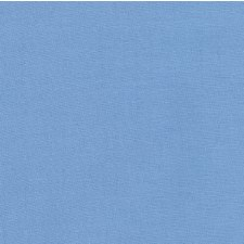 "Kona Cotton 44"" Fabric- Blues- Candy Blue"