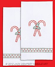 Hand Towels- Candy Canes