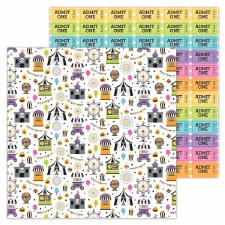 Candy Carnvial 12x12 Paper- Candy Carnival