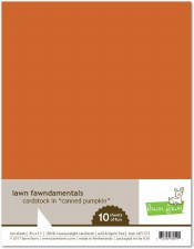 Lawn Fawn Cardstock Pack- Canned Pumpkin