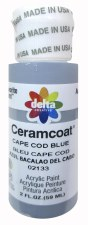 Delta Ceramcoat Acrylic Paint, 2oz- Blues: Cape Cod Blue