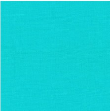 "Kona Cotton 44"" Fabric- Blues- Capri"
