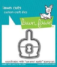 Lawn Fawn Caramel Apple Craft Dies