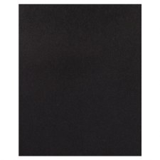 8.5x11 Black Cardstock- Midnight