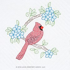 "18"" Quilt Blocks- Cardinals"