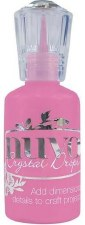 Nuvo Crystal Drops- Carnation Pink