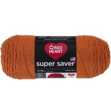 Red Heart Super Saver Yarn- Carrot