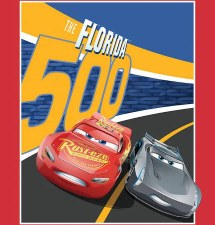 Licensed Fabric Panel- Cars 3