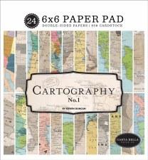 Cartography No.1 6x6 Paper Pad