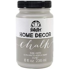FolkArt Home Decor Chalk Paint 8 oz- Castle