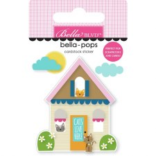 Chloe Bella-Pops Stickers- Cat House