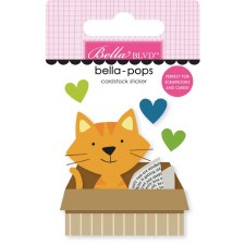 Chloe Bella-Pops Stickers- Cat In A Box