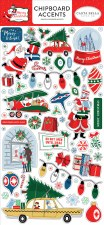 Merry Christmas Chipboard Accents