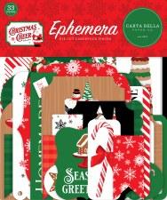 Christmas Cheer Ephemera Die Cuts