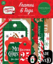 Christmas Cheer Die Cuts- Frames & Tags
