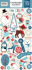 Celebrate Winter Chipboard- Accents