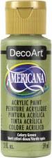 Americana Acrylic Paint, 2oz- Greens: Celery Green