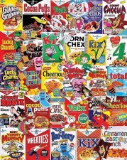 Cereal Boxes - 1,000 Piece Puzzle