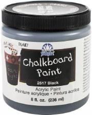Chalkboard Paint, 8oz- Black