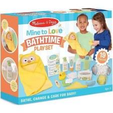Melissa & Doug Mine to Love Bathtime Play Set