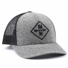 Sota Clothing Snapback Hat- Charcoal Diamond