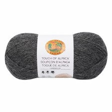 Touch of Alpaca Yarn- Charcoal