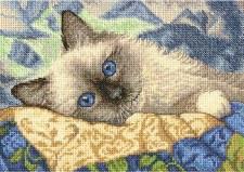 Dimensions Cross Stitch Kit- Charming Kitty