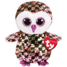 Beanie Flippable Sequins Collection- Checks the Owl