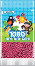 Perler Beads 1000 piece- Cherry