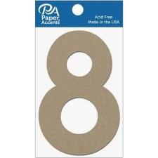 """4"""" Chibpoard Number, 2pk- 8"""