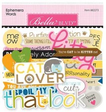 Chloe Ephemera Die Cuts- Words