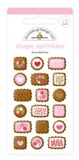French Kiss Shape Sprinkles- Chocolate Box