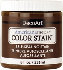 Americana Decor Color Stain, 8oz- Chocolate