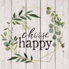 Pallet Decor- Choose Happy