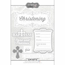 Christening Lace Sticker