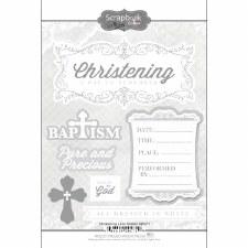 Christening Lace Sticker
