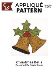 Applique Pattern- Christmas Bells