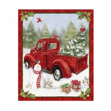 Christmas & Winter Fabric Panel- Christmas Fun
