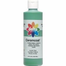 Delta Ceramcoat Acrylic Paint, 8oz- Christmas Green