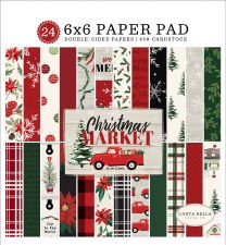 Christmas Market 6x6 Paper Pad