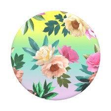 Pop Sockets- Chrome Floral