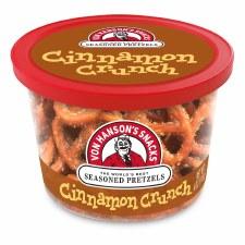 Von Hanson's 4oz Pretzel Cup- Cinnamon Crunch