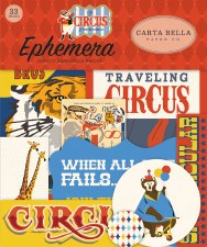 Circus Ephemera Die Cuts