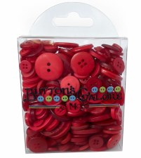 Button Pack- Classic Red