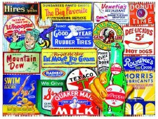 Classic Signs - 550 Piece Puzzle