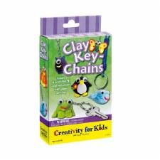 Creativity for Kids Mini Kit- Clay Key Chains