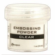 Embossing Powder- Clear