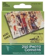 Photo Corners, 250ct- Clear