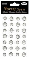 Adheisve Rhinestones- Speckled, Clear