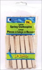"Clothespins, 3.375""- 24ct"